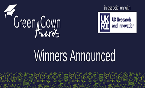 EAUC - Green Gown Awards Winners Announced